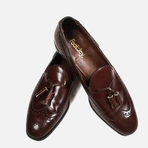 FootJoy Mens Wingtip Oxford Loafers Size 10.5